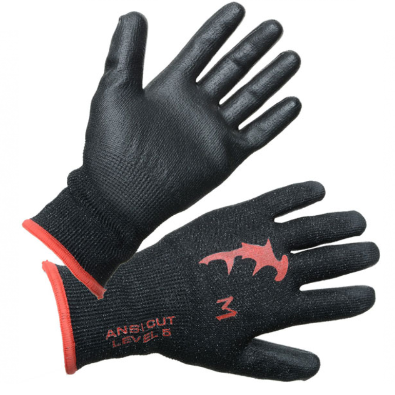 Hammerhead Dyneema Gloves - Black