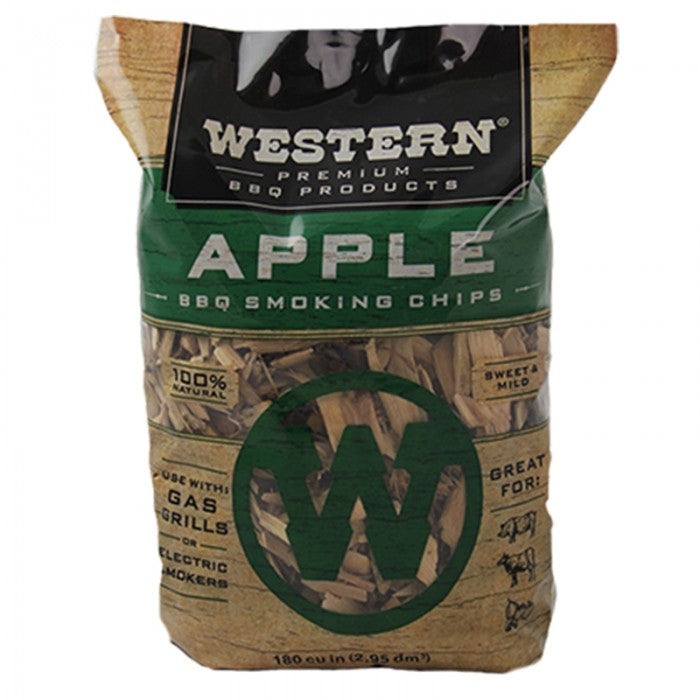 Western BBQ Wood Chips 750g