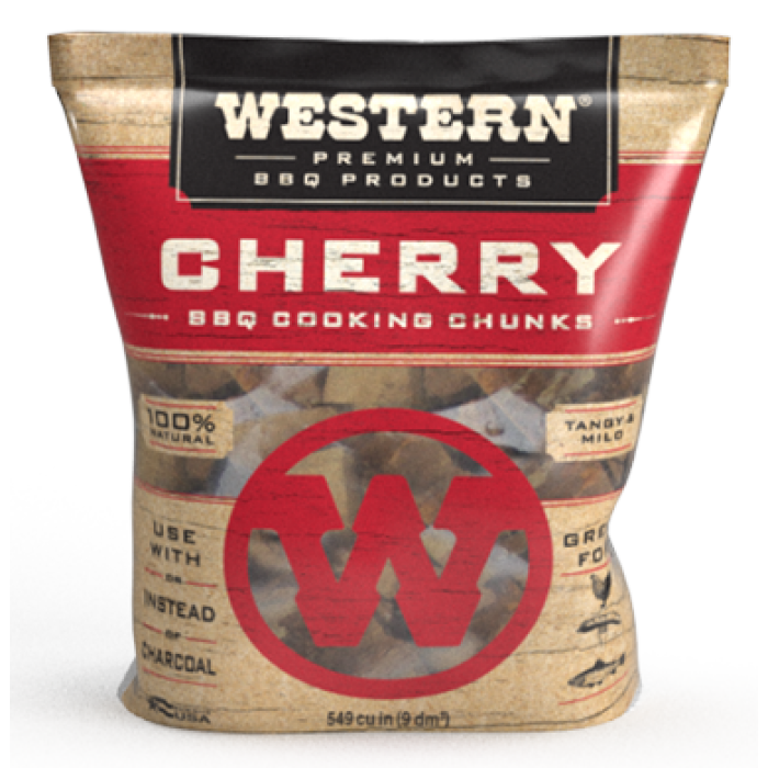 Western BBQ Wood Chunks 3.1kg