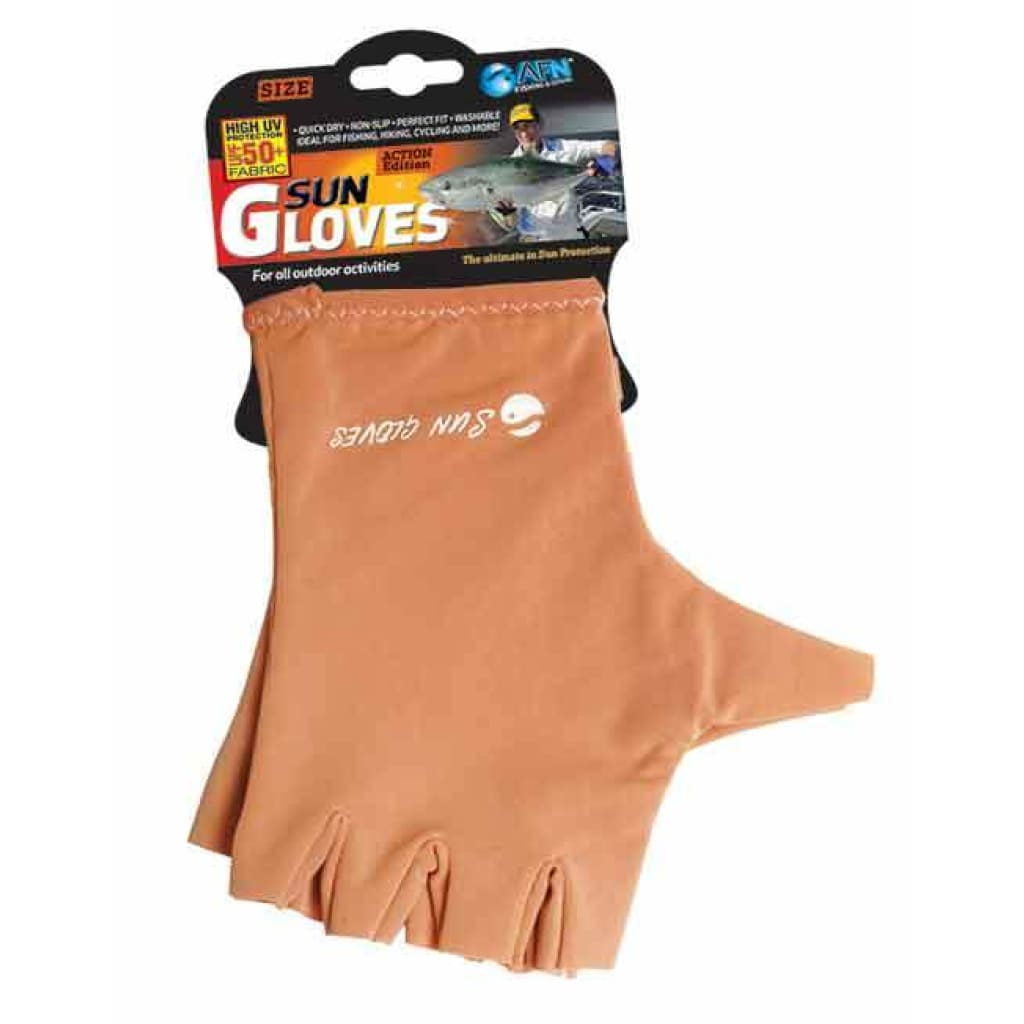 Afn Sun Gloves Small / Water Grey Afn
