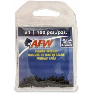 Afw Single Leader Sleeve Pkt Terminal Tackle