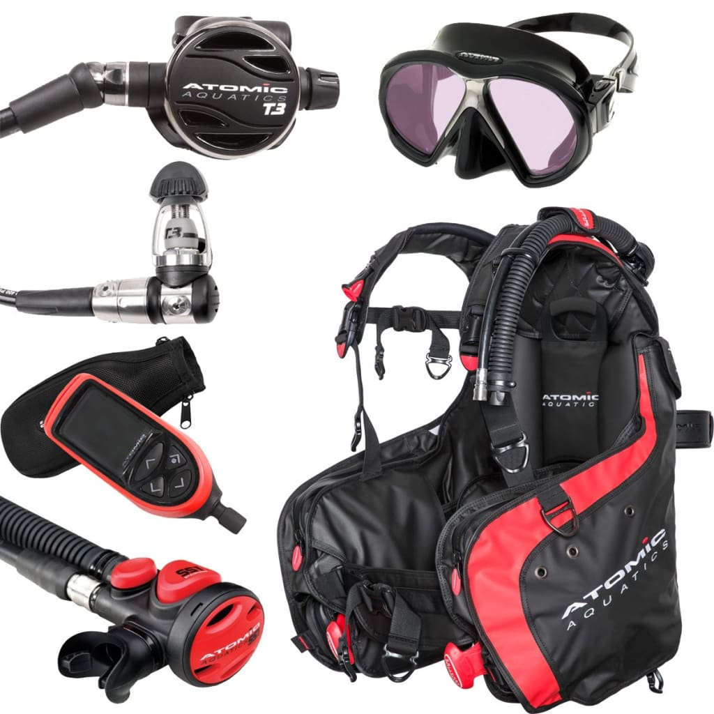 Atomic BEST IN DIVE Scuba Package ATOMIC AQUATICS