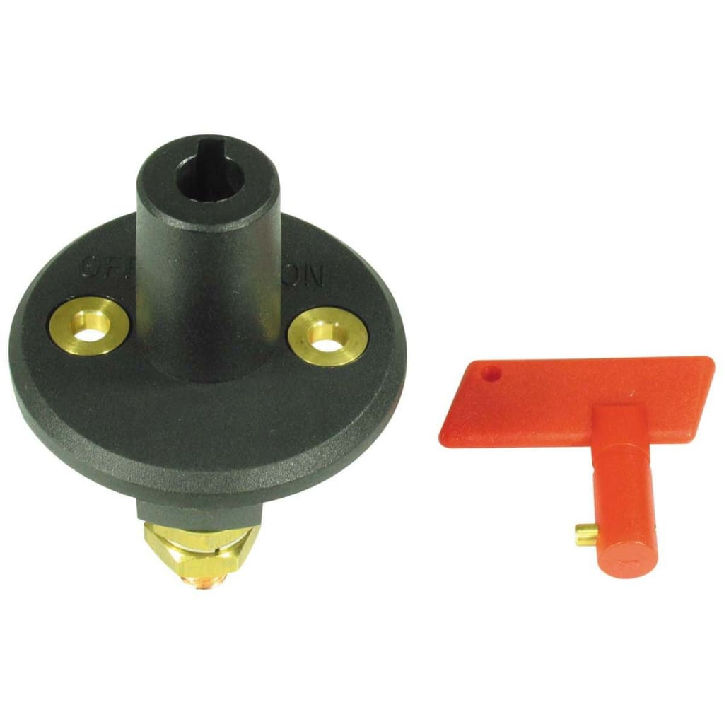 Battery Switch With Key Lighting / Electrical