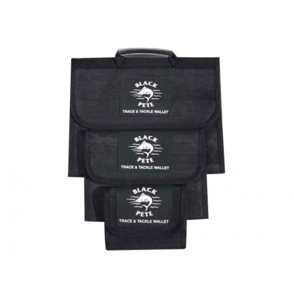 Black Pete Tackle Wallets Tackle Storage