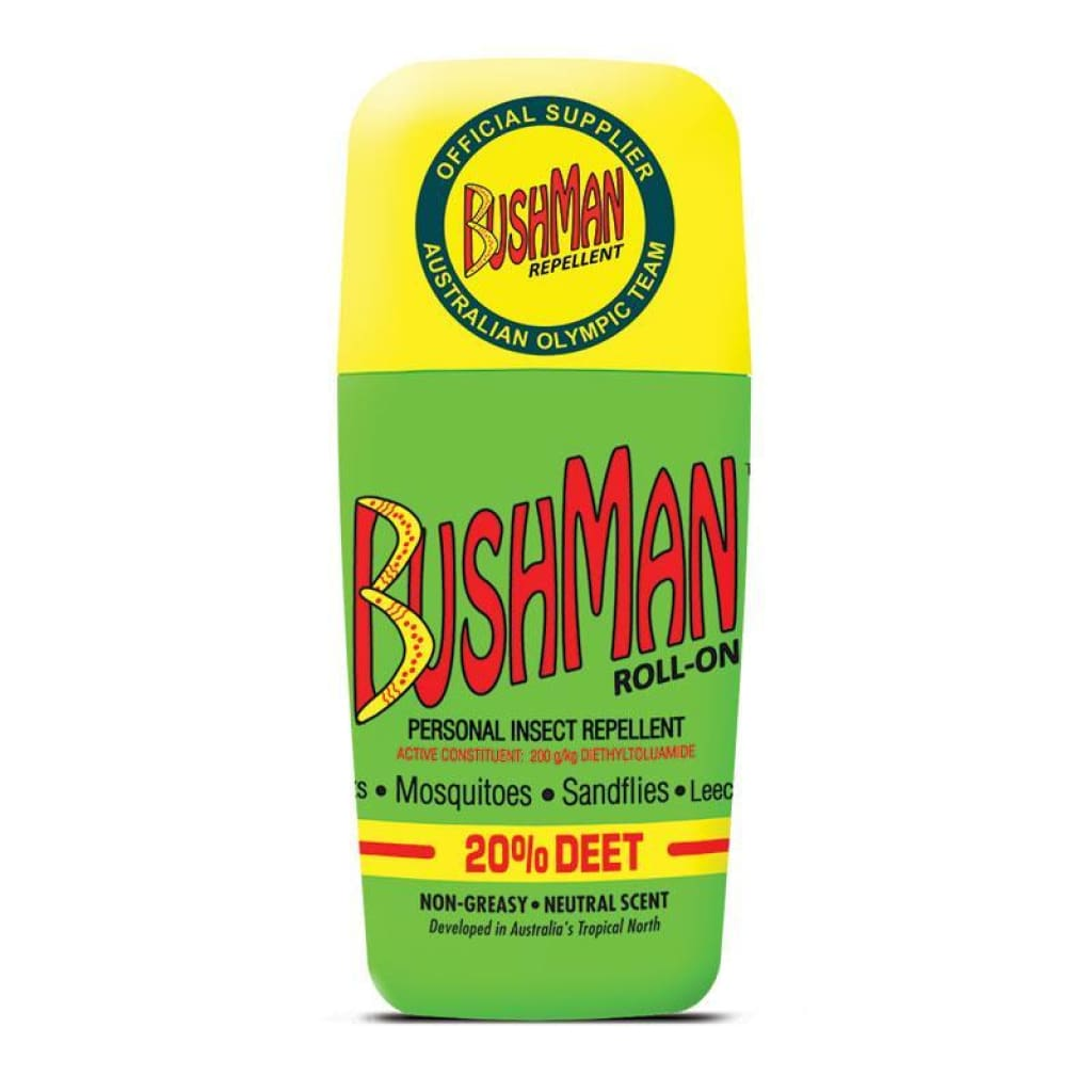 Bushman Roll-On Insect / Sun / Rain Protection