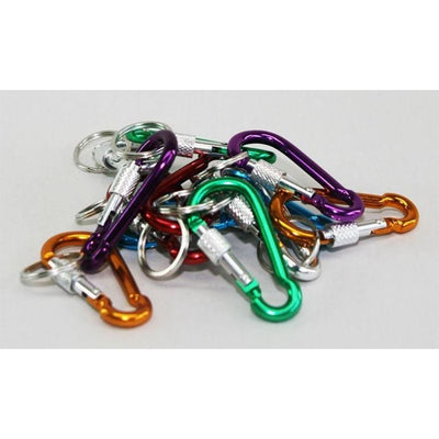 Carabiner & Key Ring 60Mm Mitchells