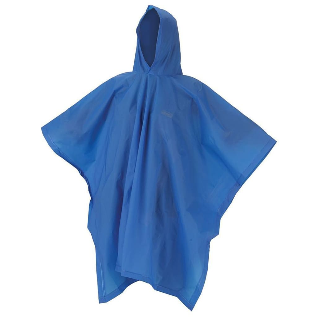 Coleman Eva Adult Poncho Blue C Clothing / Footwear