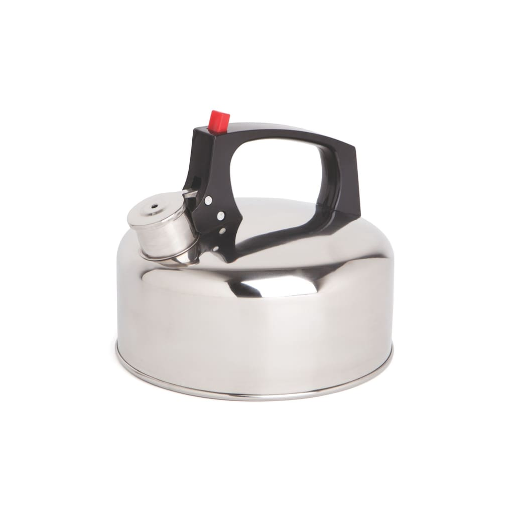 Coleman Stainless Steel Whistle Kettle Cooking / Kitchenware