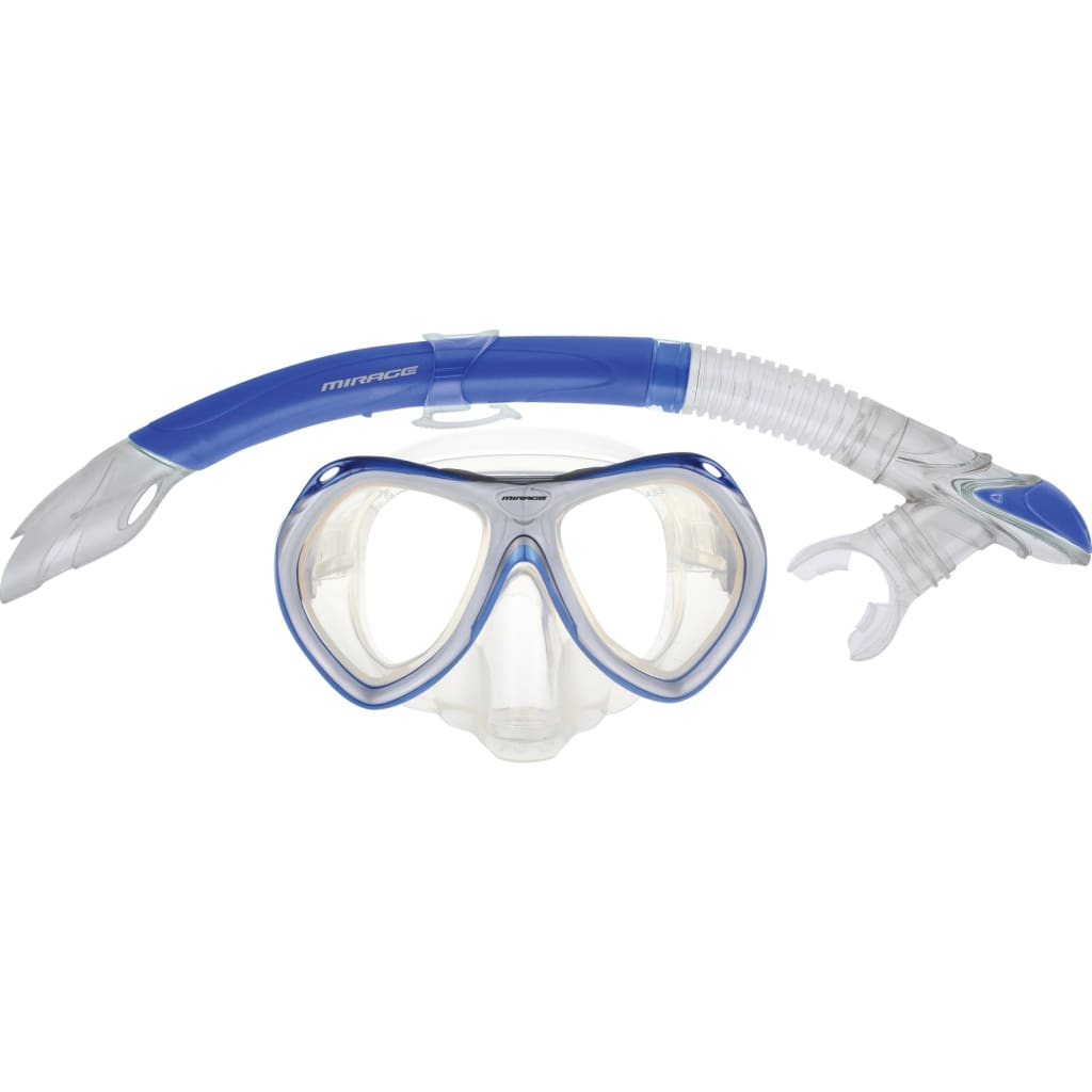 Crystal Mask/Snorkel Junior Set