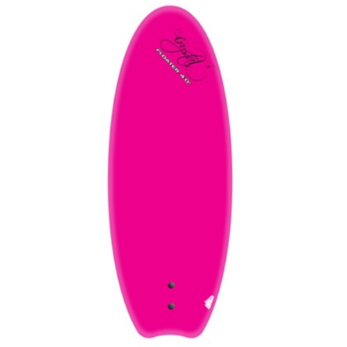 Crystal Pink Floater Surfboard