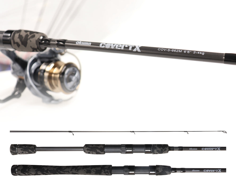 Okuma Covert X Spin Rod