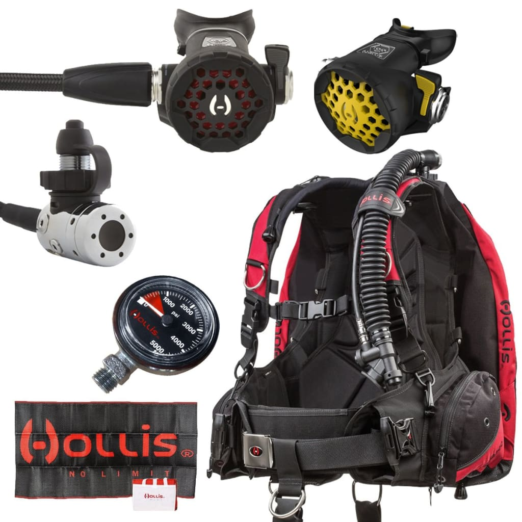 Hollis HD200 Scuba Package HOLLIS