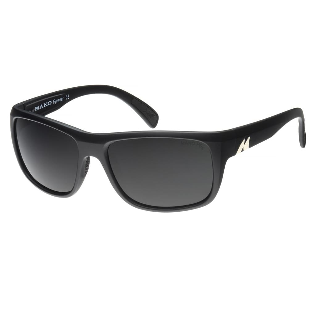Mako Apex Sunglasses Matt Black / Pc Grey Mako
