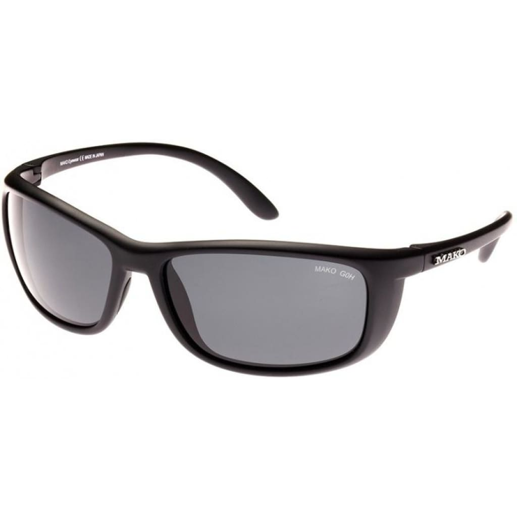 Mako Blade Sunglasses Matt Black / Glass Hd Grey Mako