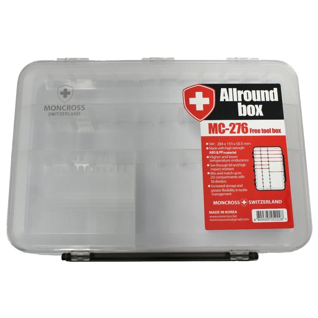 Moncross Allround Box Tackle Storage