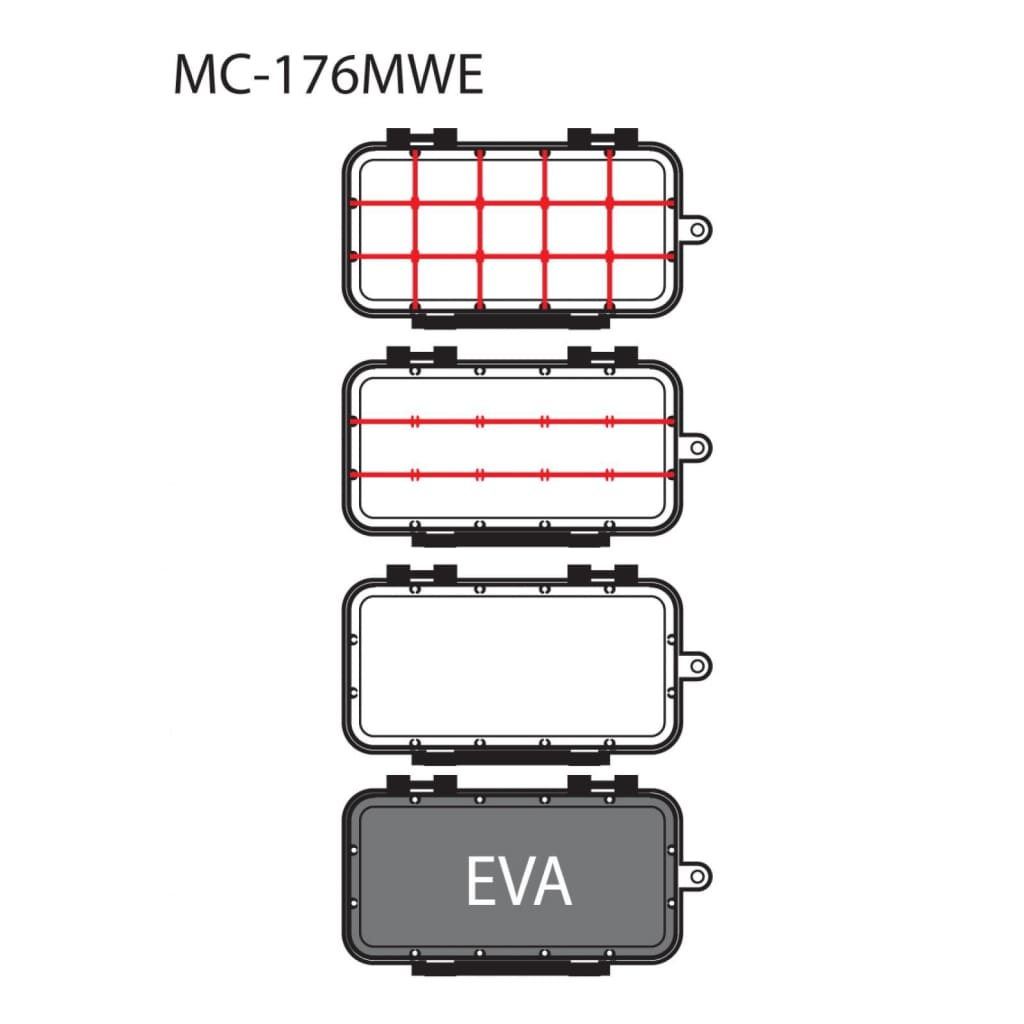 Moncross Tackle Tray With Eva Tackle Storage