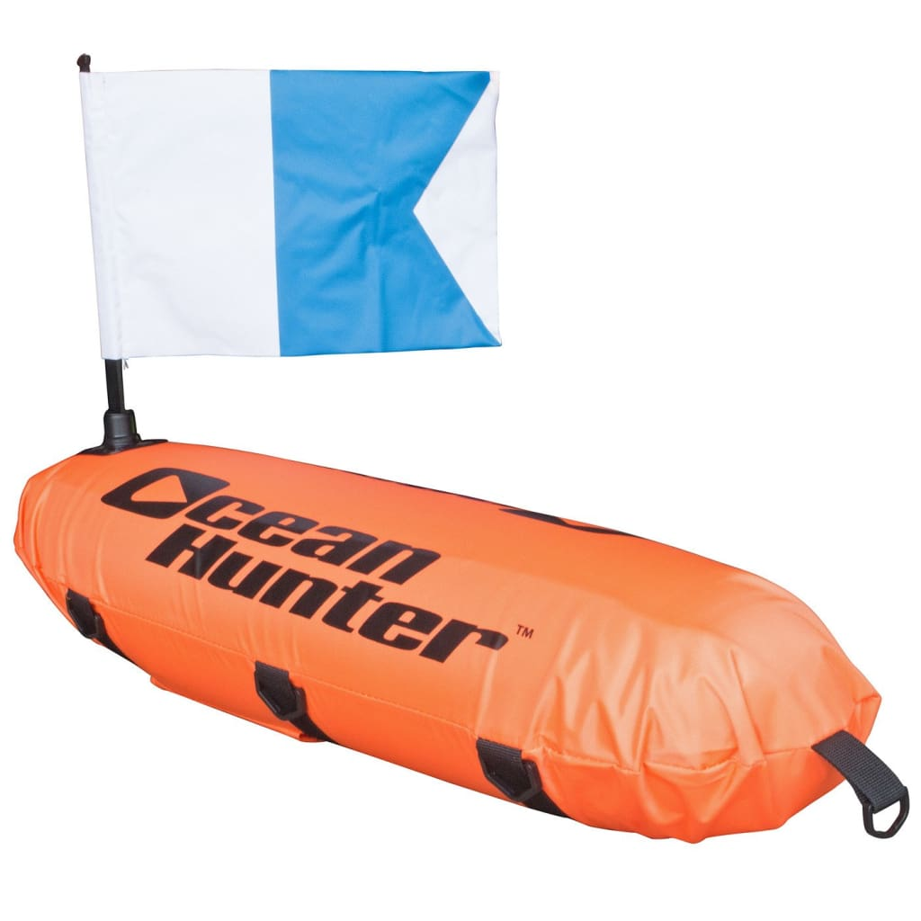 Ocean Hunter Float with Flag