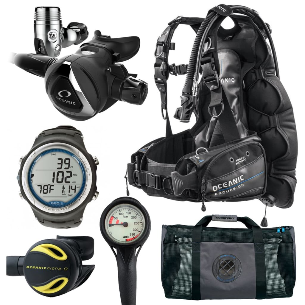 Oceanic Excursion Scuba Package OCEANIC