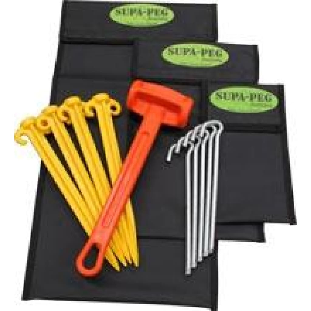 Polyester Canvas Peg Bag Poles / Pegs / Ropes