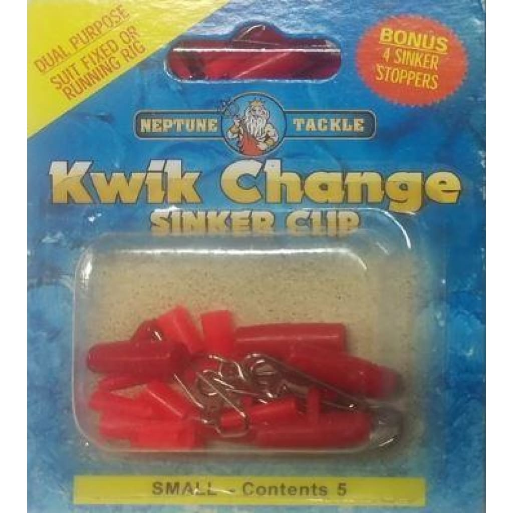 Qwik Running Sinker Clip Small 5Pk Terminal Tackle