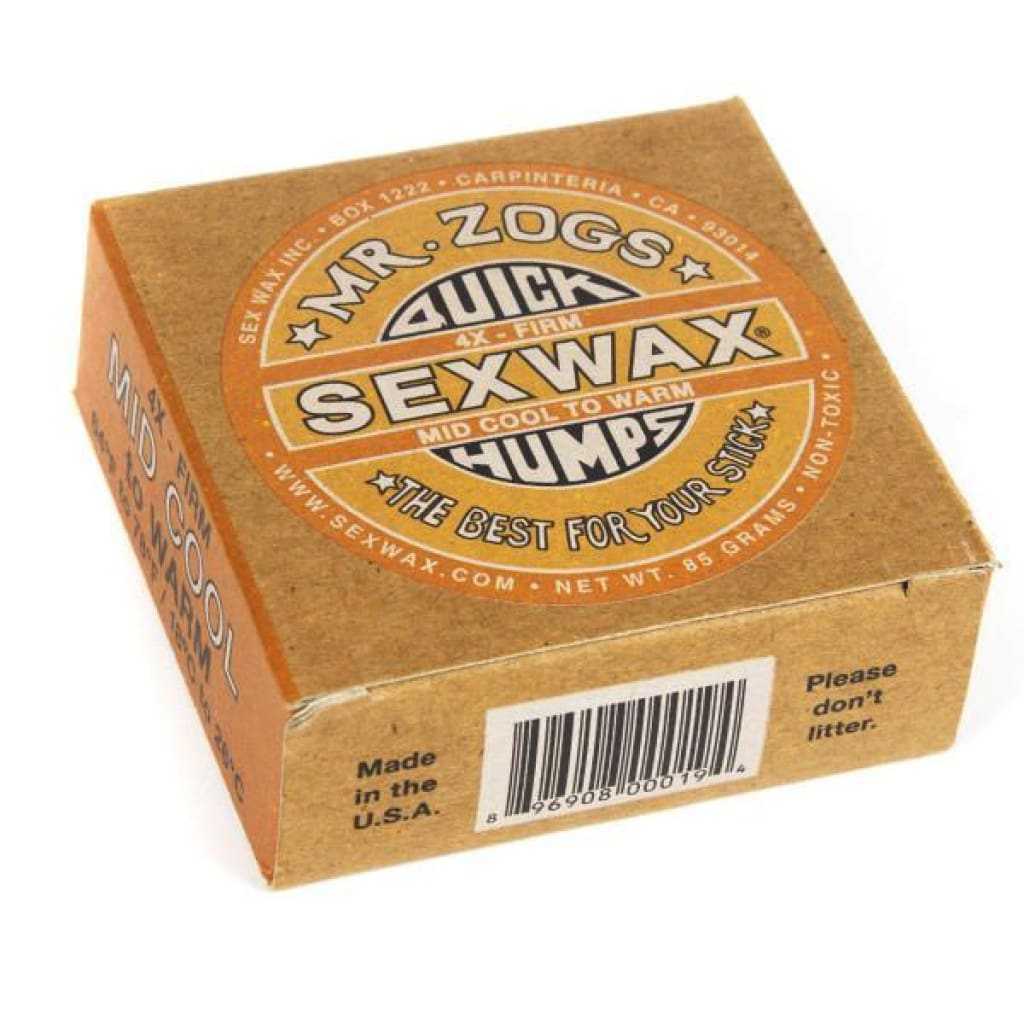 Sexwax Quick Humps Orange Surfing Accessories
