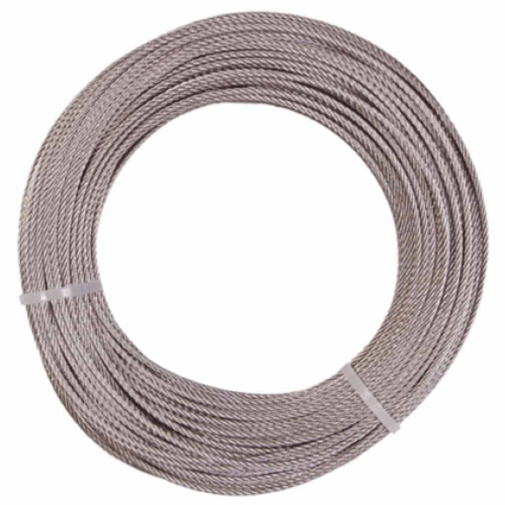 Shogun 7 Strand Uncoated Wire