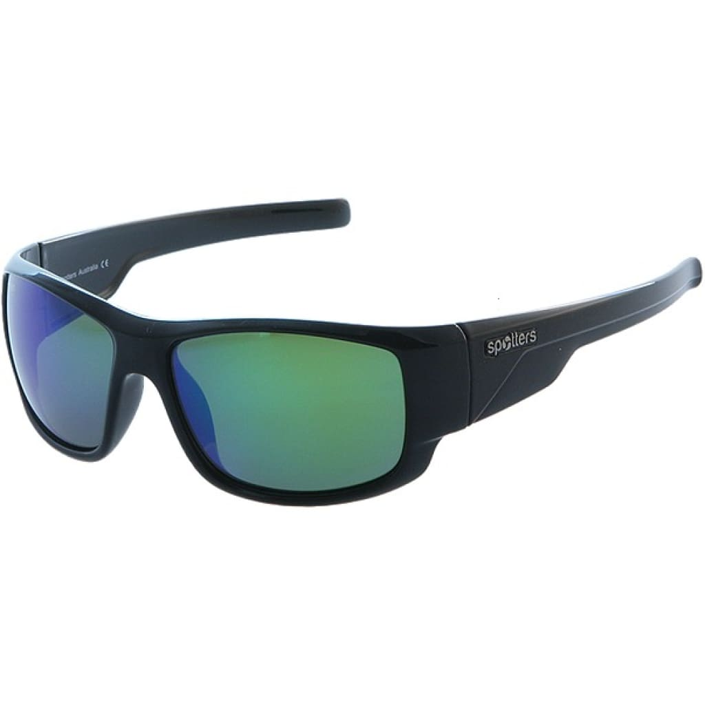 Spotters Droid Gloss Black Sunglasses