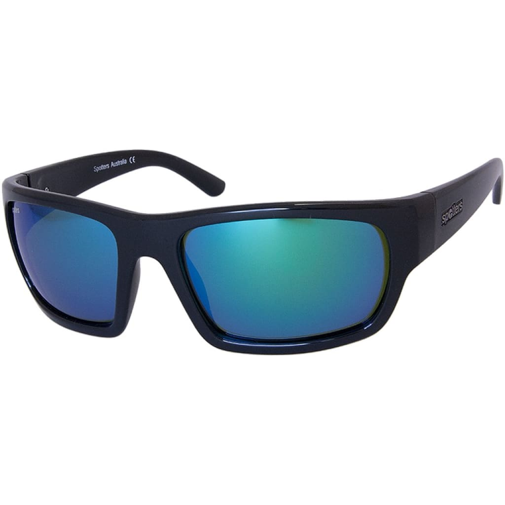 Spotters Freak Gloss Black Sunglasses