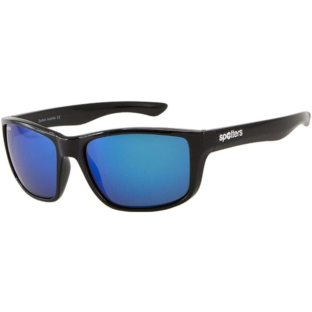 Spotters Rebel Gloss Black Sunglasses