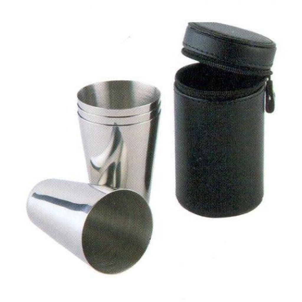 Stainless Steel Mug Set 4Pcs 100Ml Cooking / Kitchenware