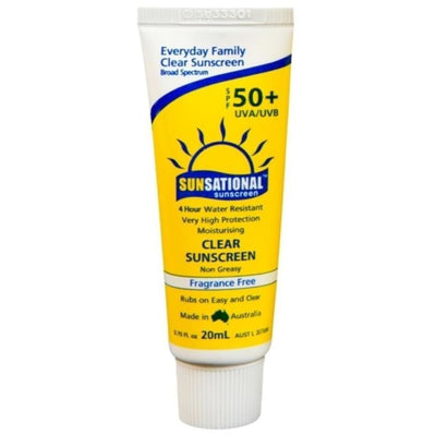 Sunsational Spf50+ Sunscreen 20Ml Sunsational