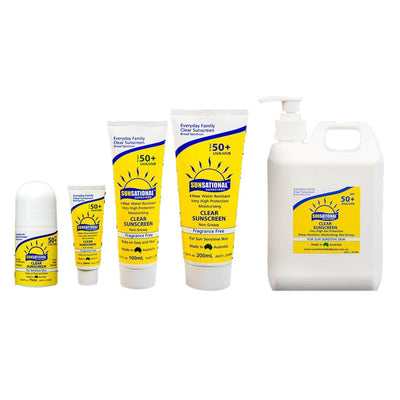 Sunsational Spf50+ Sunscreen Insect / Sun / Rain Protection