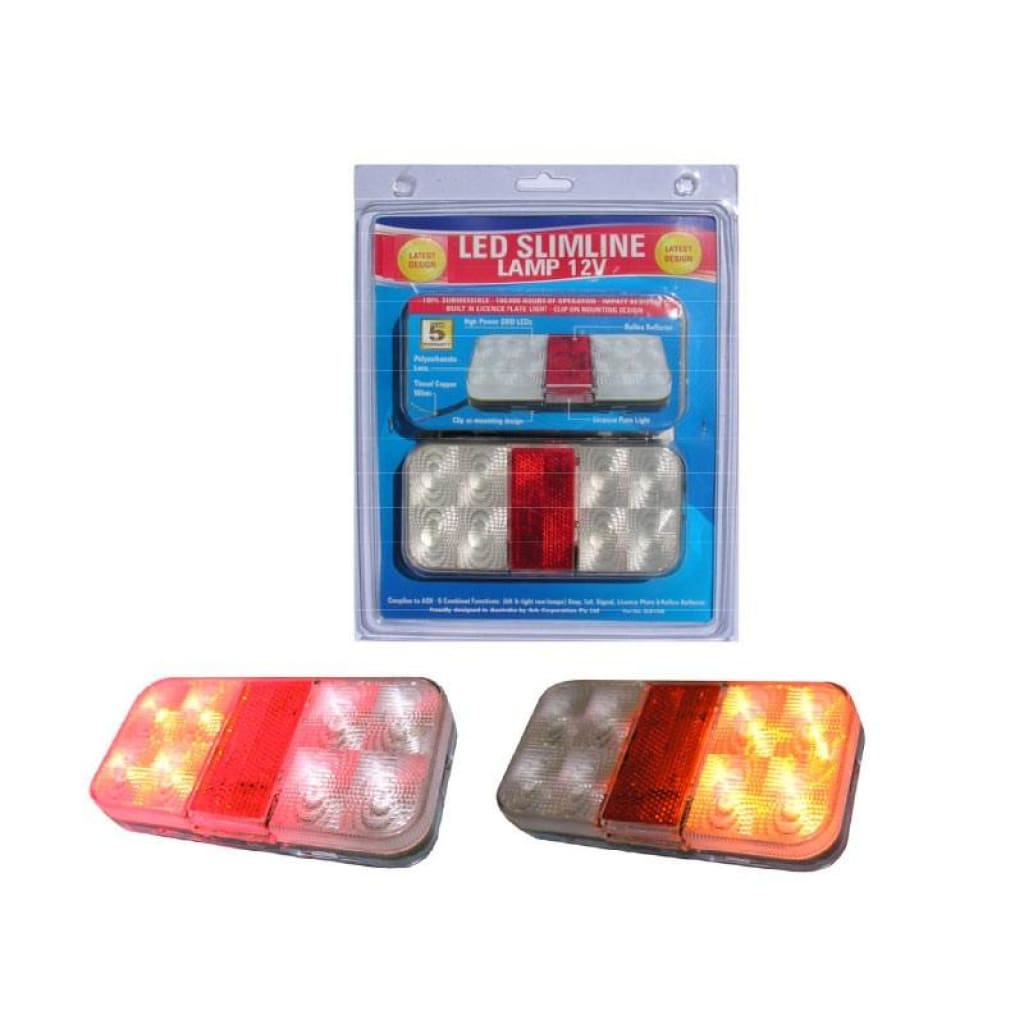 Trailer Light Led Slim Combo Trailer Parts / Accessories