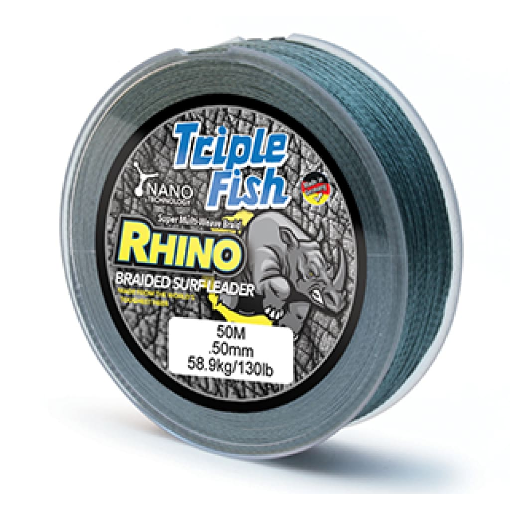 Triple Fish Rhino Braided Leader Line