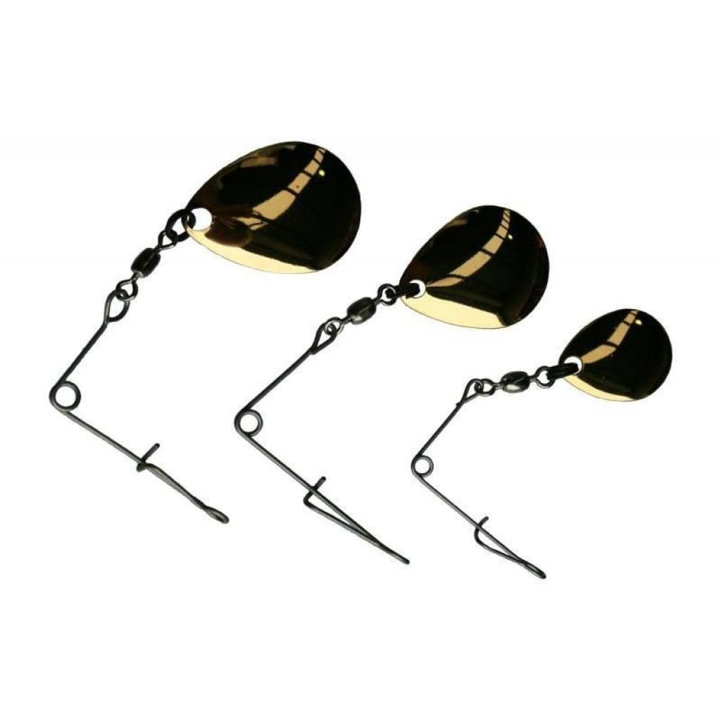Tt Jig Spinners #3 / Gold / 3Pk Lures