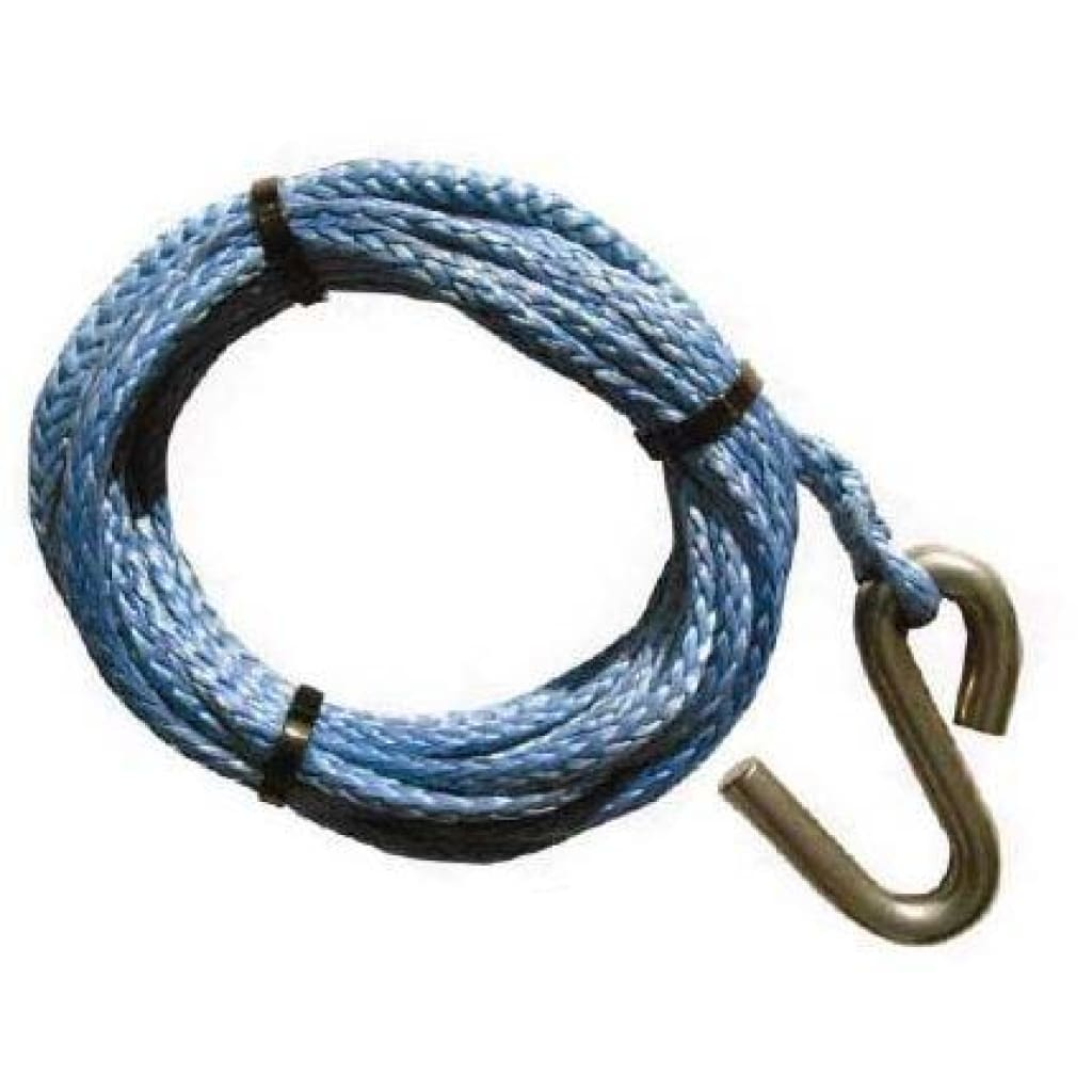 Winch Rope With Ss Hook Trailer Parts / Accessories