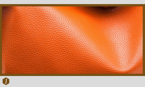 London rivet Tote: ORANGE