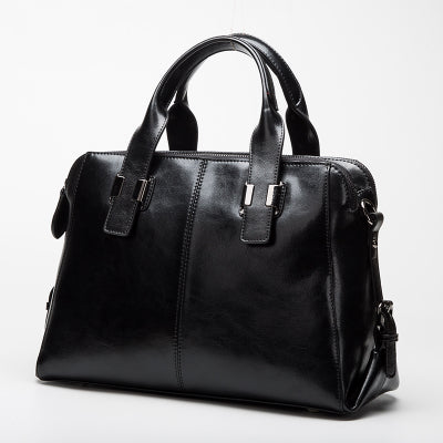 latest designer high quality black leather handbag crossbody classic design nz buy online