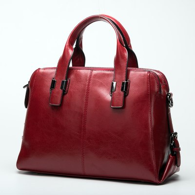latest designer high quality red leather handbag crossbody classic design nz buy online