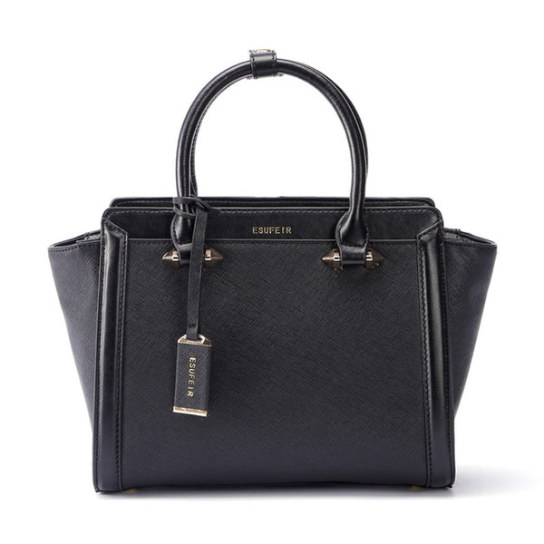 latest designer black leather handbag top quality nz buy online