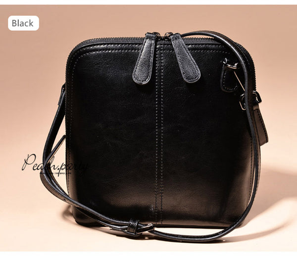 latest designer quality leather black crossbody nz buy online
