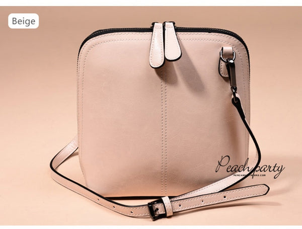 latest designer quality leather beige crossbody nz buy online
