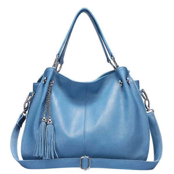 latest designer hobo leather handbag blue crossbody nz buy online