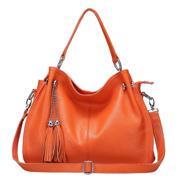 latest designer hobo leather handbag orange crossbody nz buy online