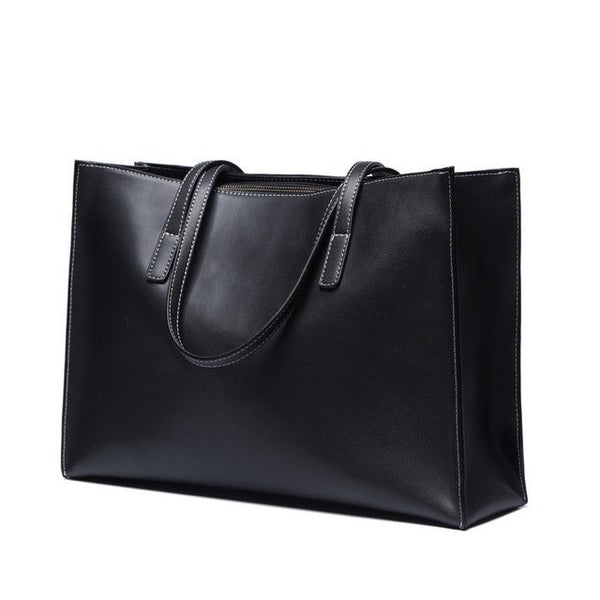 latest luxury designer leather tote bag black nz buy online