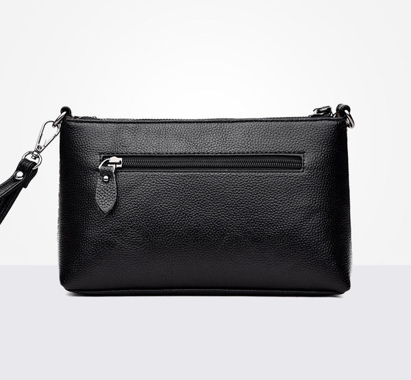 latest designer handbag leather clutch crossbody black nz buy online