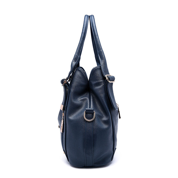 nz buy online latest designer leather navy large handbag shoulder bag crossbody tote