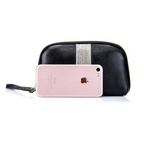 latest designer leather wallet zip closure nz buy online