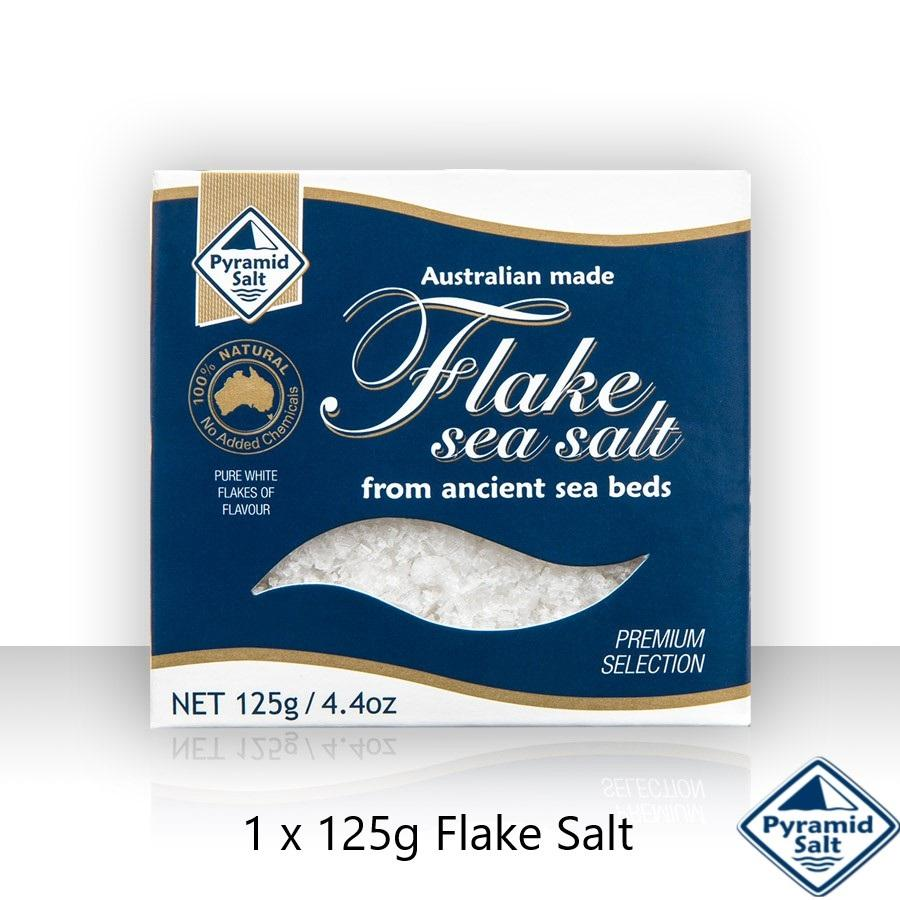 Pyramid Salt Flake Sea Salt 125g