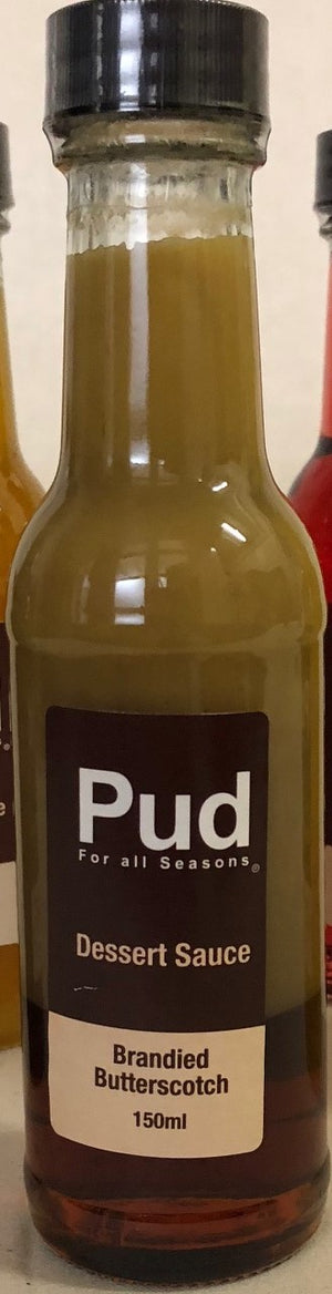 Pud for All Seasons Brandied ButterScotch Sauce 150ml